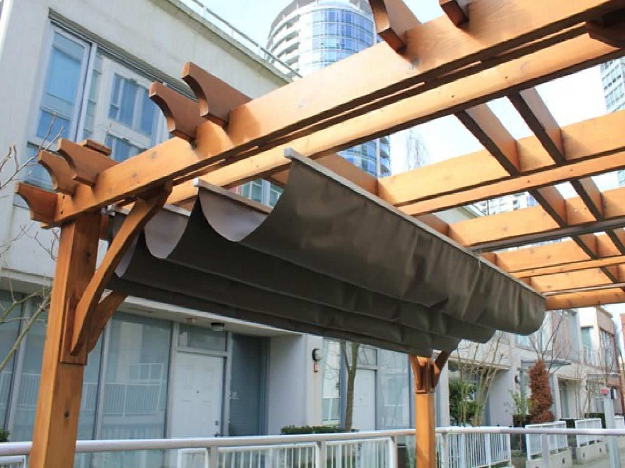Retractable Pergola Canopy Cover | bestpergolaideas.com ... on Canvas Sun Shade Pergola id=68645