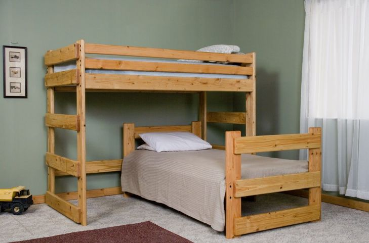 Glamorous L Shaped Bunk Beds  Picture   Work Spaces Design