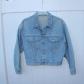 Guess vintage distressed cropped denim jacket s vintage guess