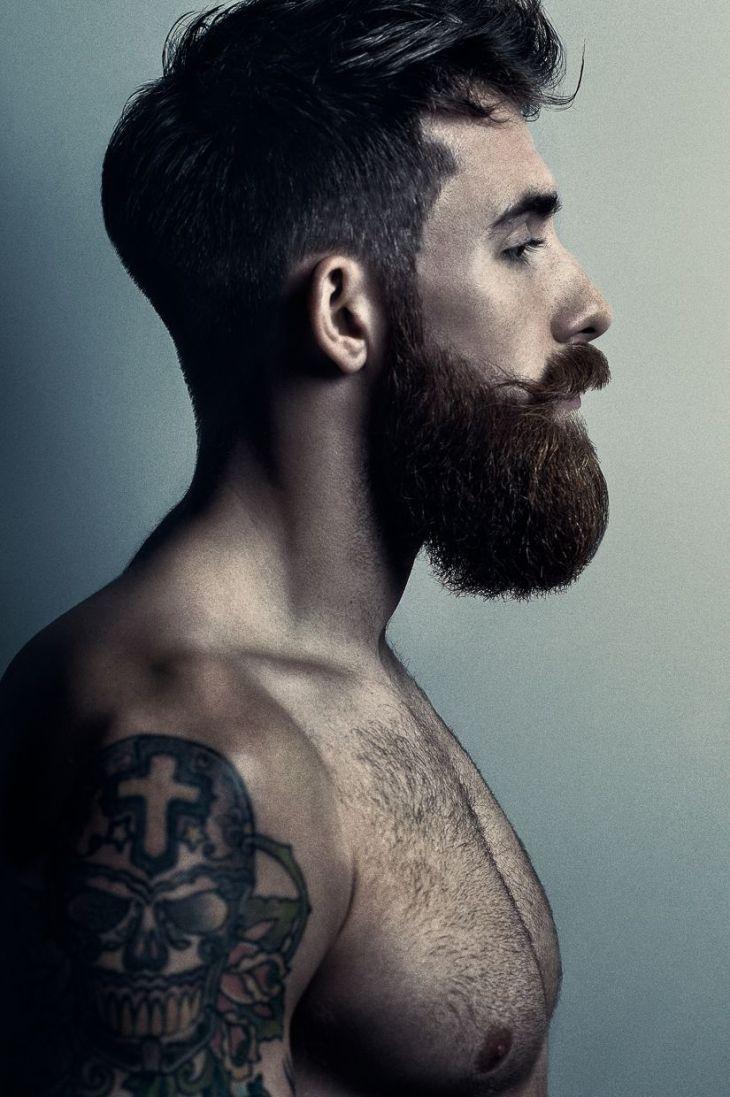 Tristan Harper  love the male facial hair  Pinterest  Beard game