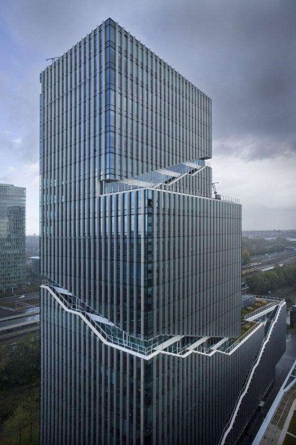 Vinoly tower, Rafael Vinoly Architects, van den Oever ...