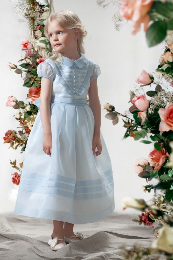Gorgeous in Blue Papilio Girls  Ceremony Collection  Dress