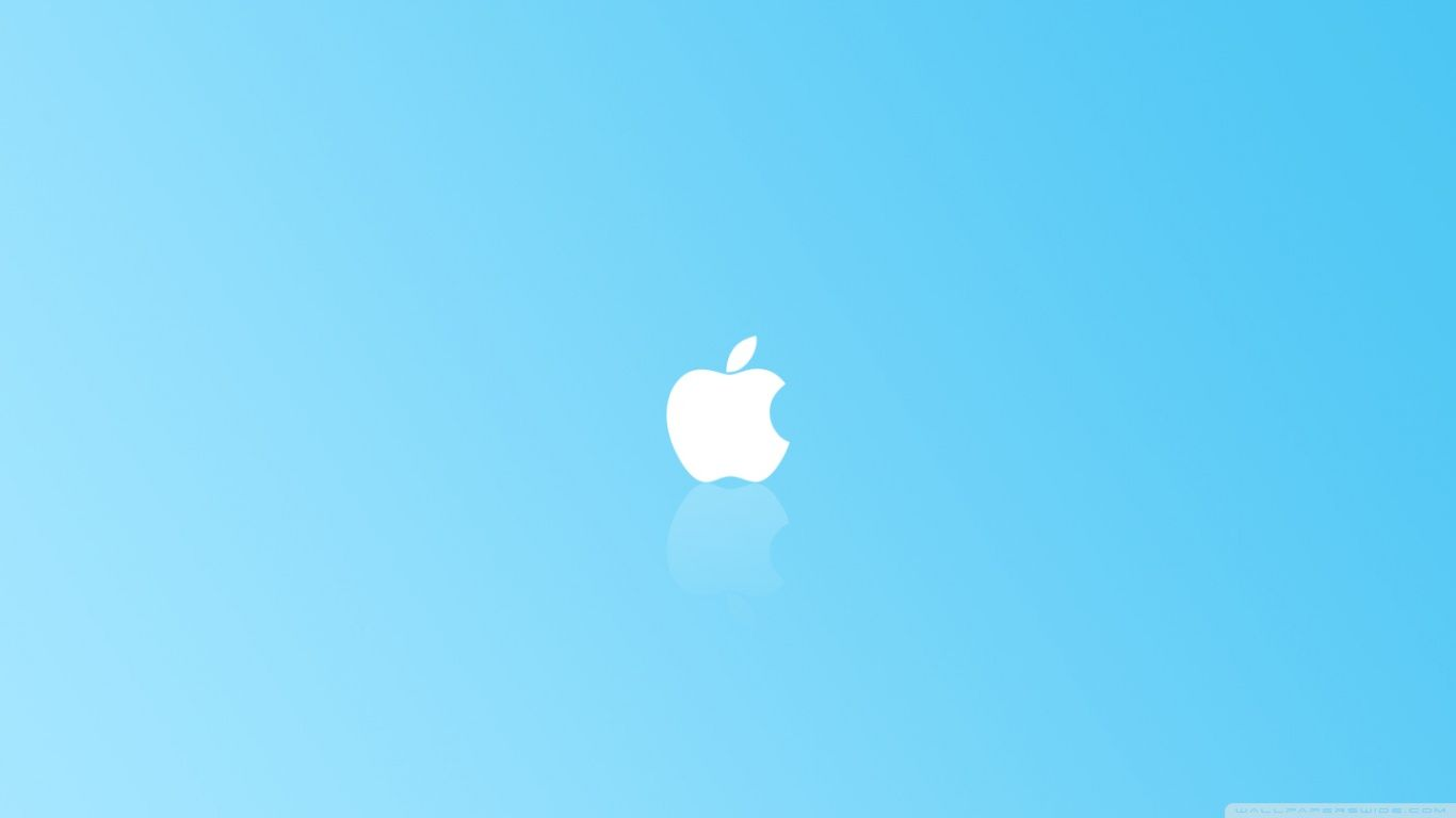 apple with a light blue background | wallpapers | pinterest