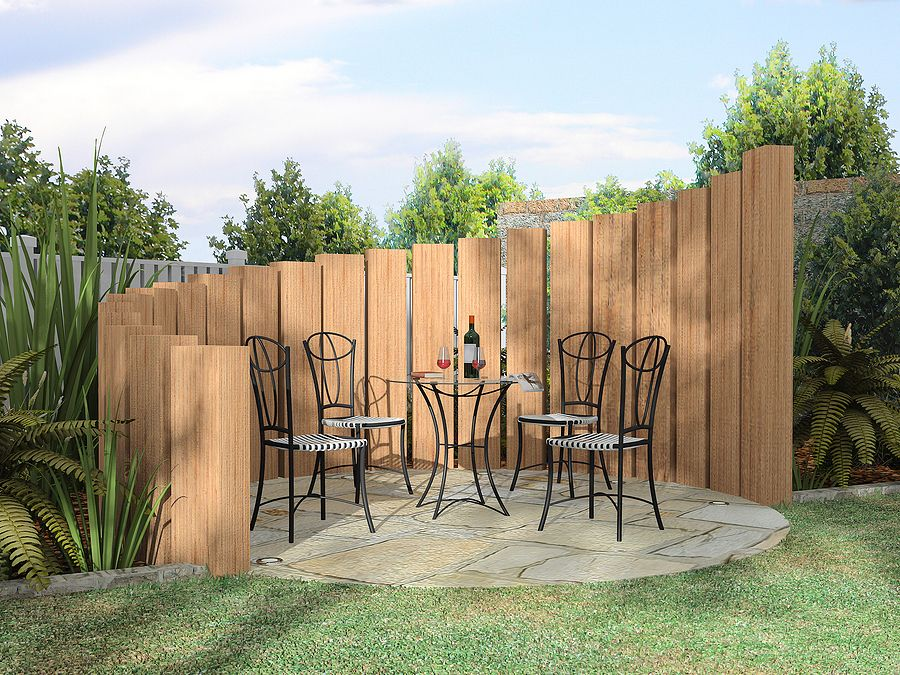 Best Privacy Fence Designs : Different Cheap Privacy Fence