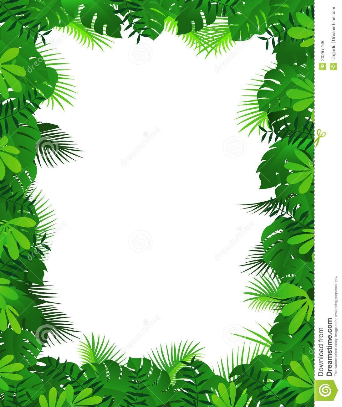 Nature Forest Frame