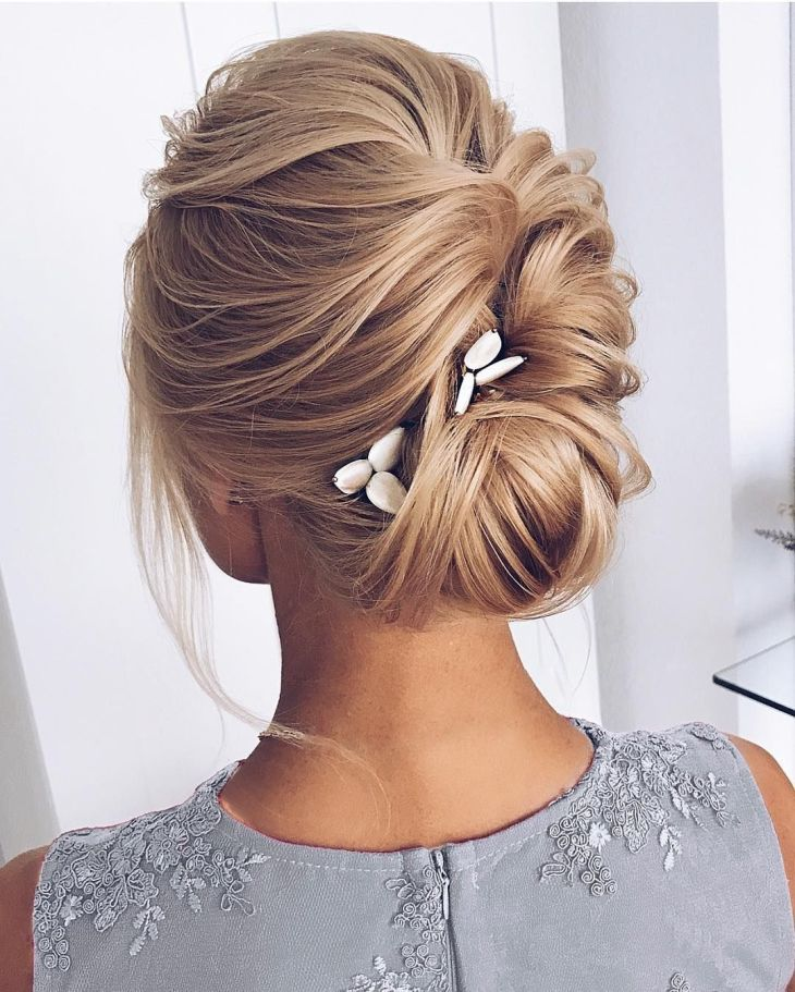 Gorgeous Wedding Hair From Ceremony to Reception Elegant updo