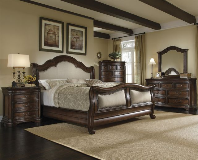 Coronado King Size Sleigh Bed by A R T Furniture Inc Wolf