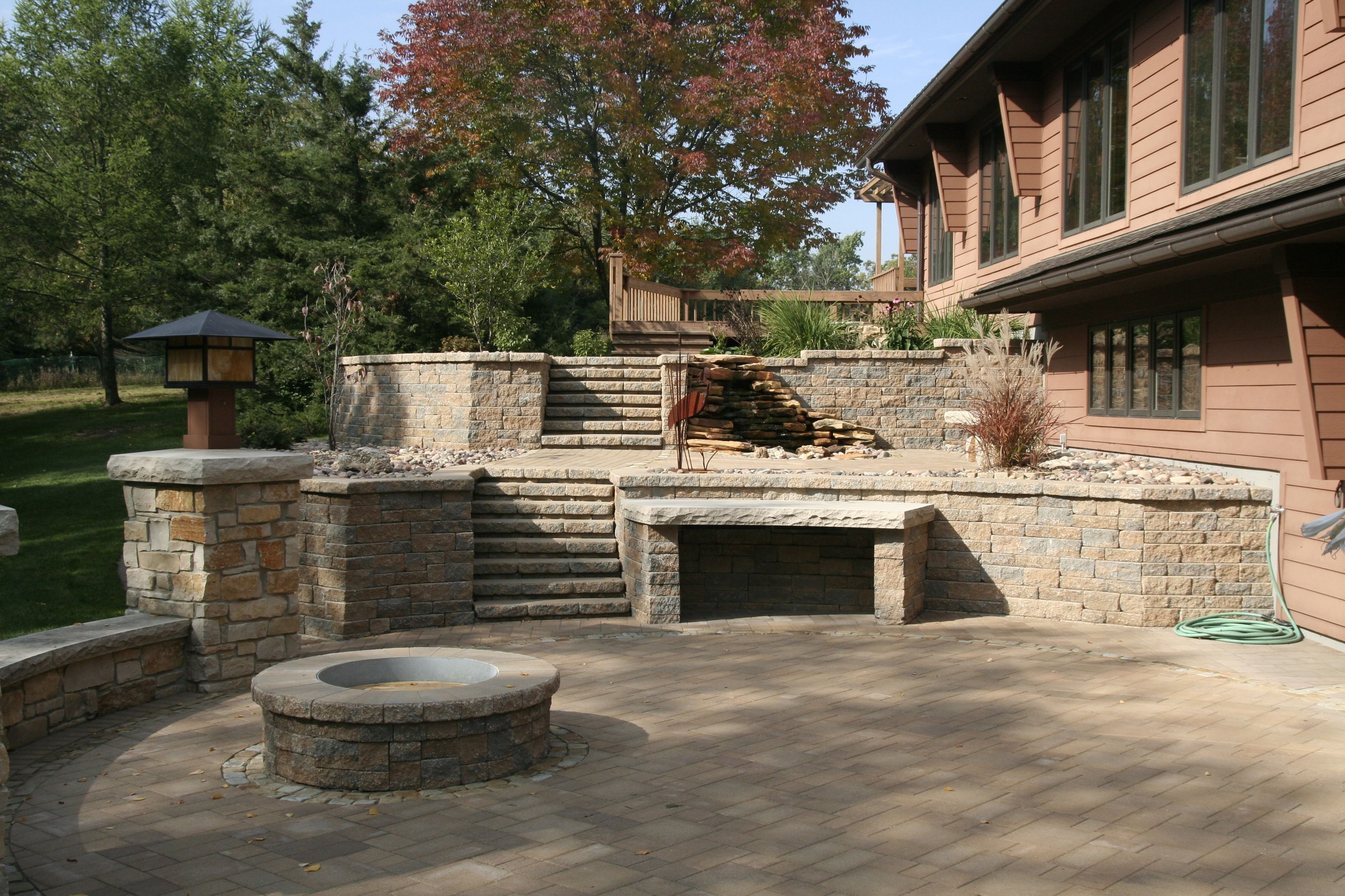 Awesome Unilock Pavers For Your Outdoor Patio Ideas ... on Unilock Patio Ideas id=46062