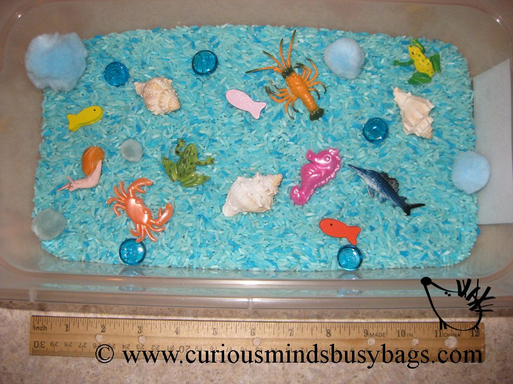 Under The Sea Sensory Bin Or Play Set