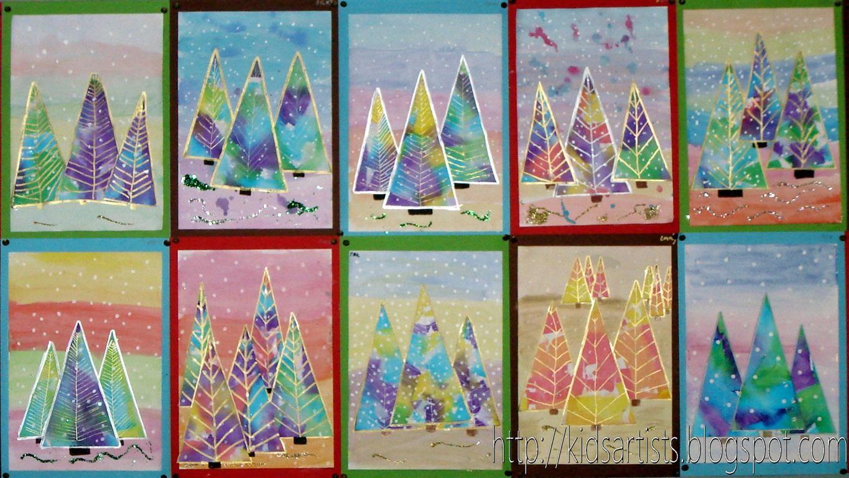 Kids Artists Christmas