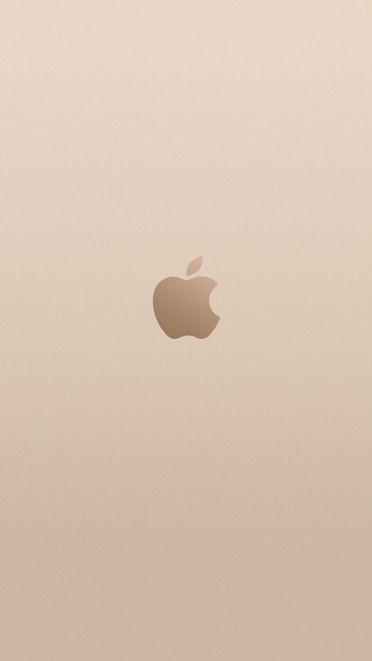 Champagne gold Apple logo Kawaii Pinterest Apple logo