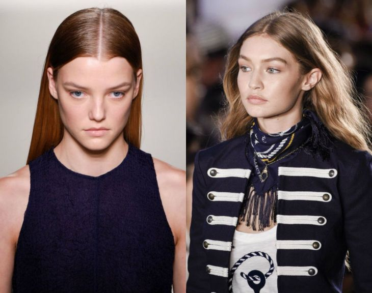 Grand Spring  Hair Trends From Recent Runways   from