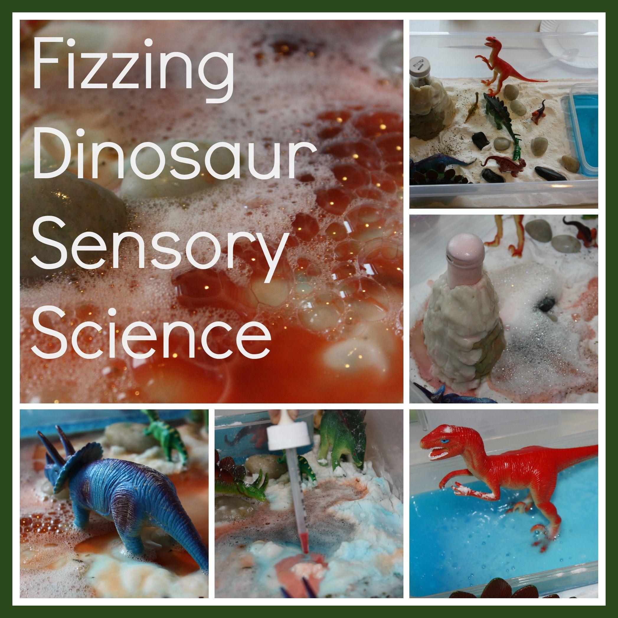 Dinosaur Volcano Science Sensory Small World Play Idea