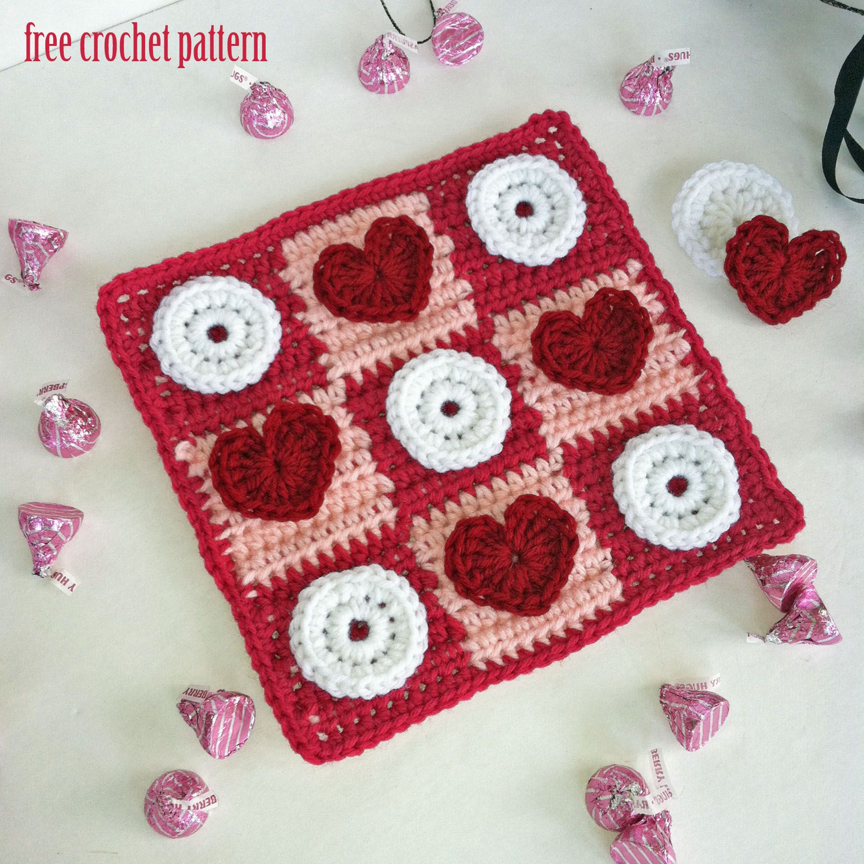 Crochet Pattern For Board Games Free Crochet Pattern