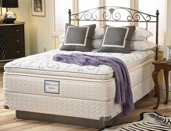King Size Sealy Posturepedic Pillow Top Mattress