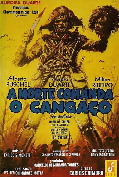 Poster do filme A morte comanda o cangaço