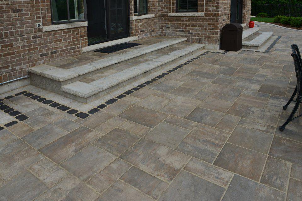 unilock patio designs beacon hill flagstone - Google ... on Unilock Patio Ideas id=95993