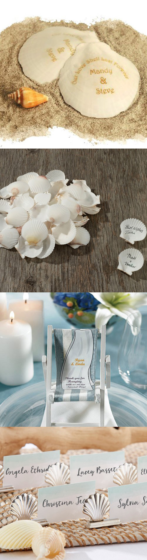 Gorgeous Beach Wedding Decoration  Favor Ideas for a Perfect