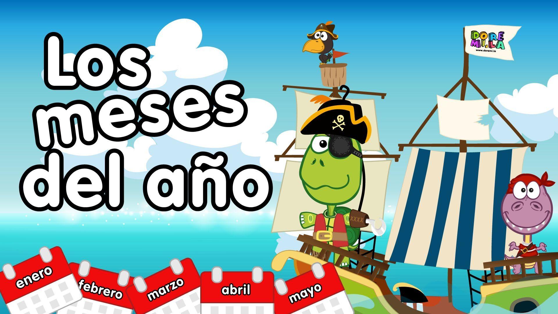 Meses Del Ano En Ingles Y Espanol