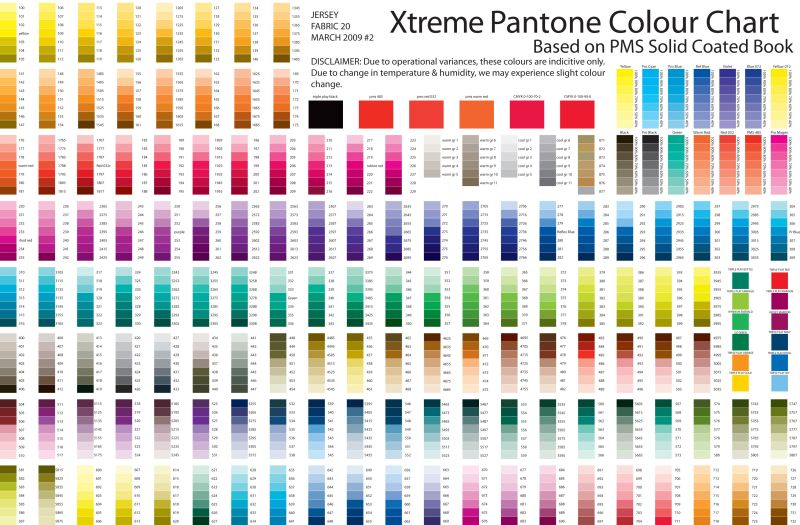 Pms Color Chart Coloringsite