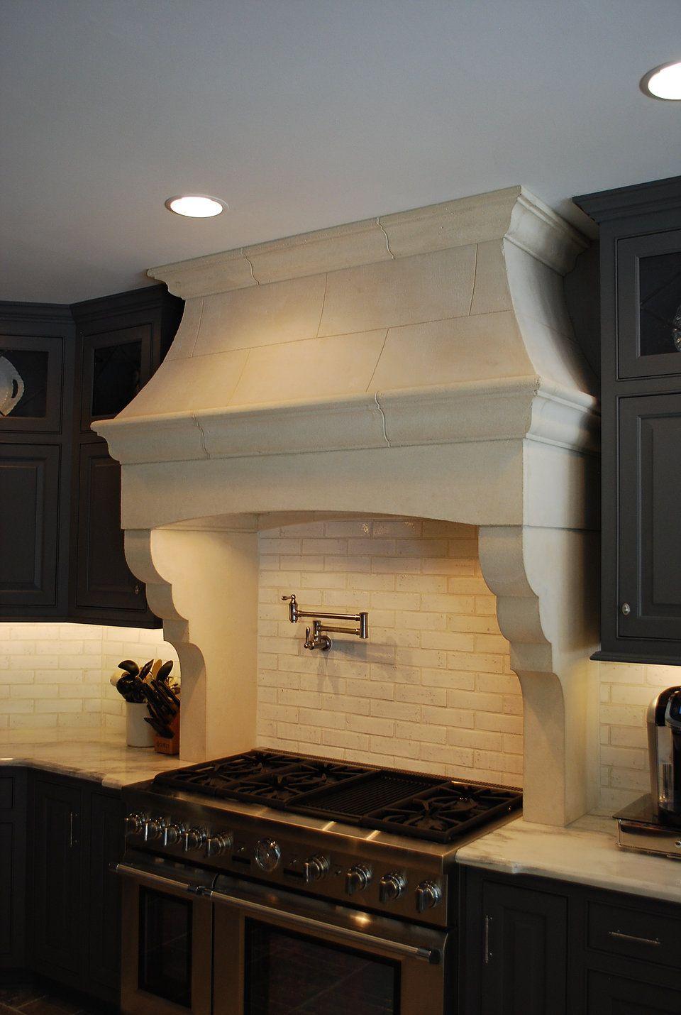 Best Kitchen Gallery: Cast Stone Hoods And Limestone Fireplace Custom Products Stone of Stone Kitchen Hoods on rachelxblog.com