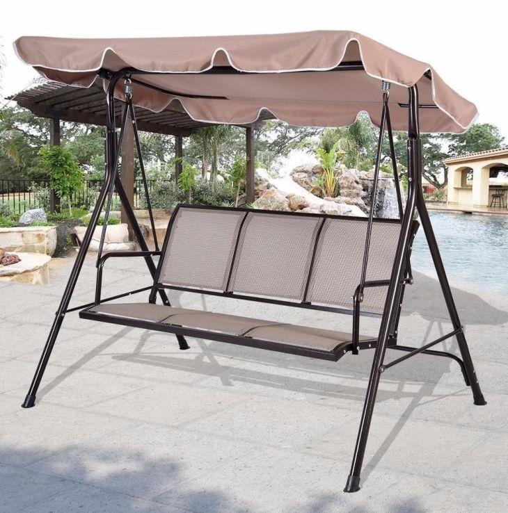 Luxury Seater Swinging Garden Hammock Swing Chair Outdoor Bench