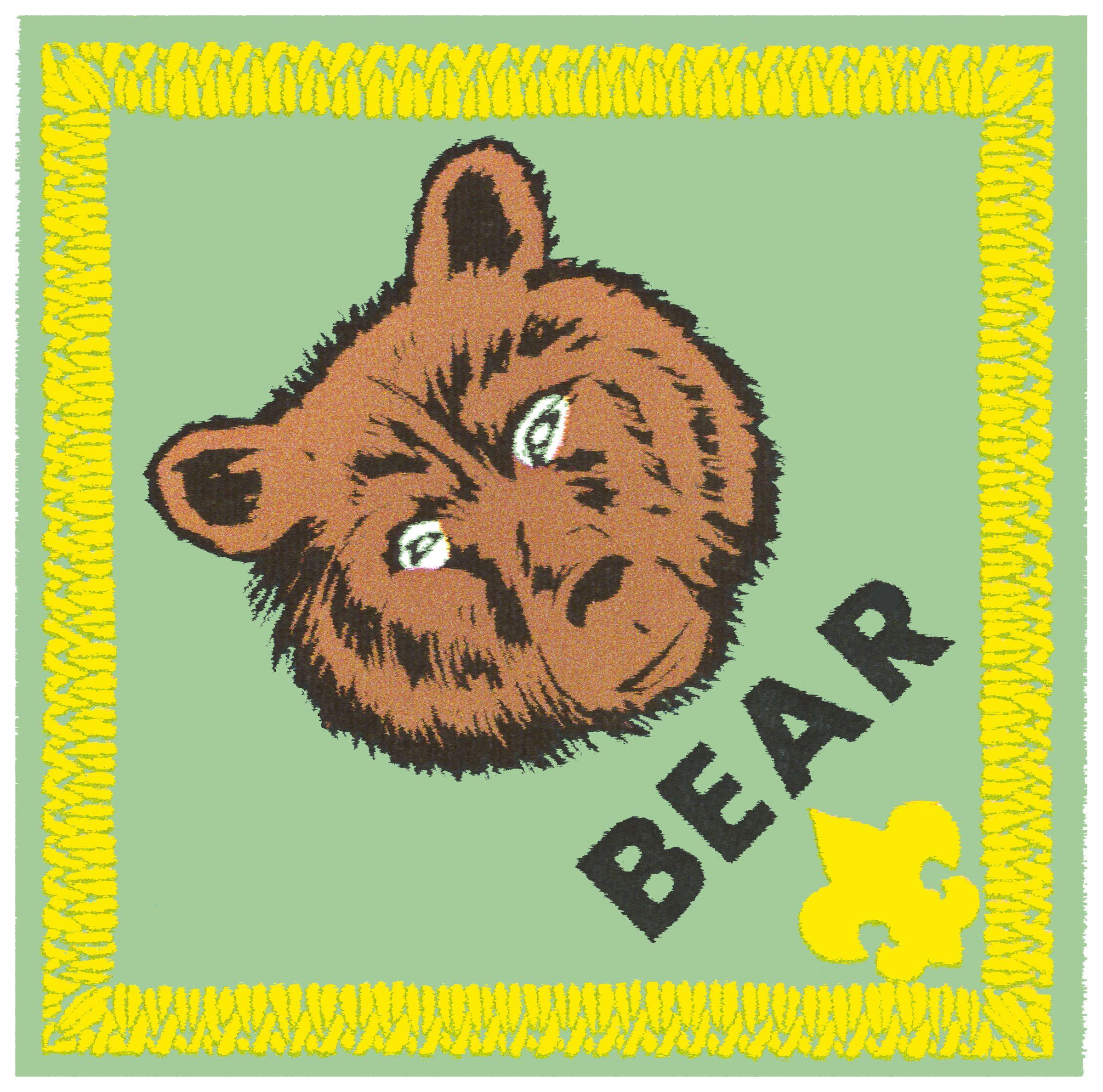 Bear Cub Badge