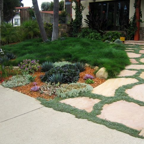 a lovely and turf-less front yard. I want my front yard to ... on No Grass Garden Ideas  id=60878