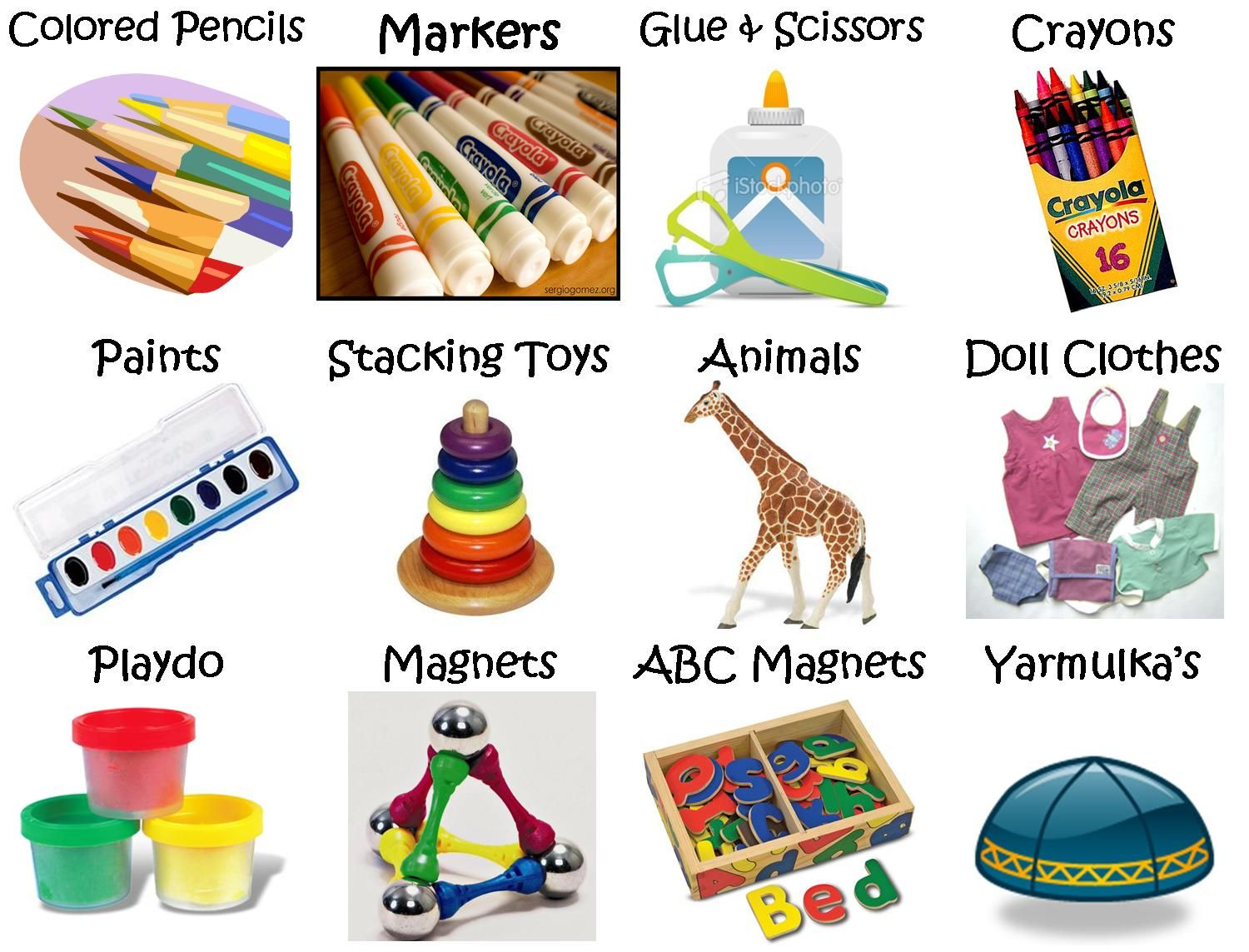 Printable Toy Labels