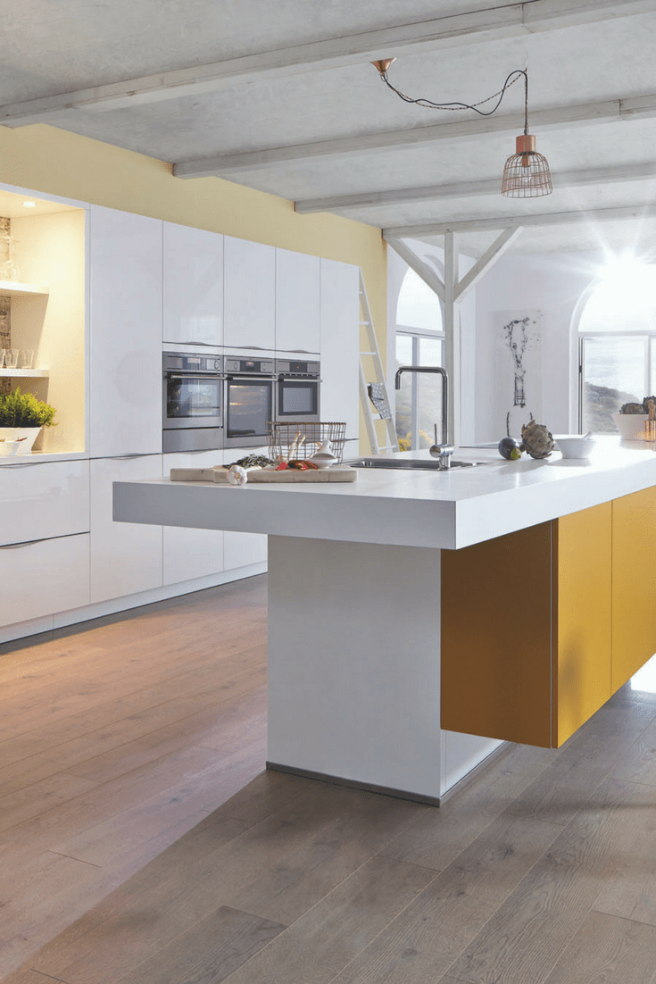 Weiße Küchen Ideen Und Bilder Für Küchen In Weiß Floor Lamp And