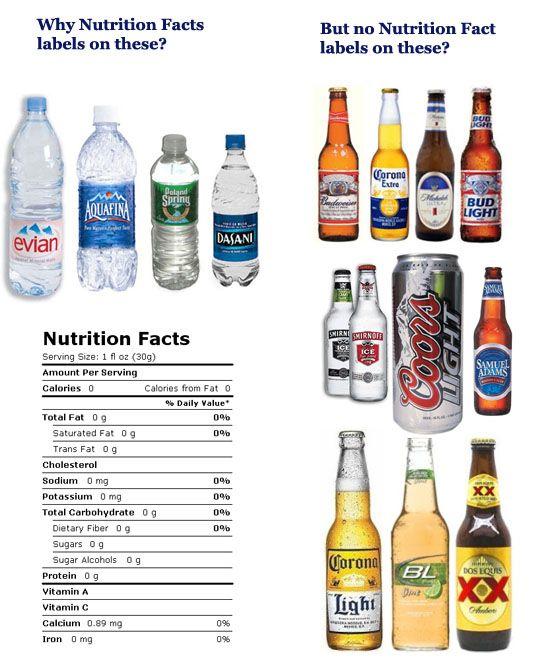 bottle of bud light calories