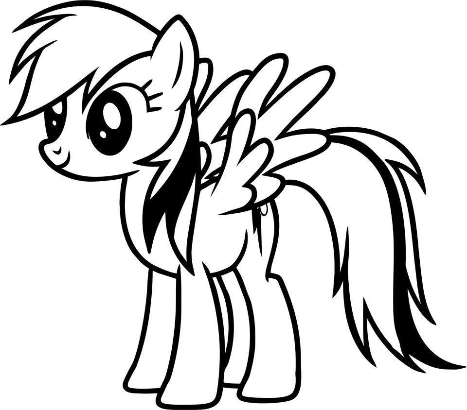 My Little Pony Rainbow Dash Die Cut Vinyl Sticker Decal Video