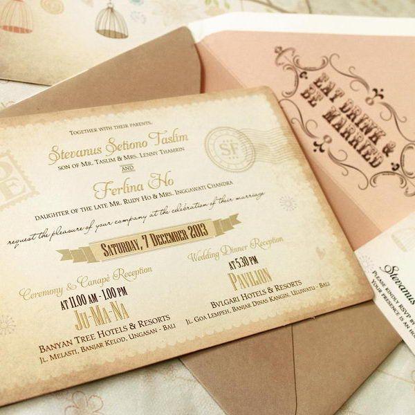 Wedding invitation card di jakarta newsinvitation foto undangan pernikahan oleh maple card jakartawedding invitation stopboris Images