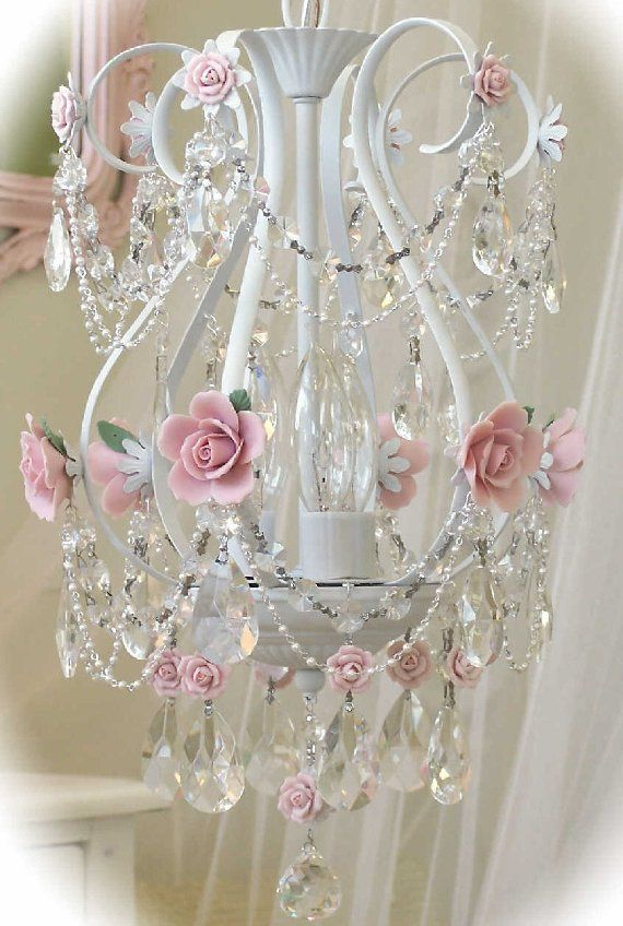 Vintage Baby Birdcage Chandelier The Frog And Princess Chandeliershabby Chic