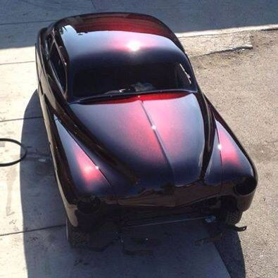 Lead Sled With A Fresh Paint Job