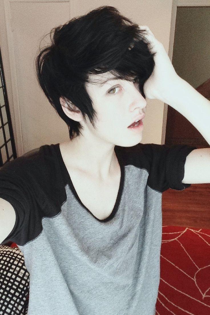 Non Binary Haircuts Google Search Meg Hair Pinterest