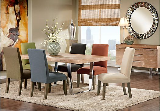 shop for a cindy crawford home san francisco ash 5 pc on rooms to go dining room furniture id=44595