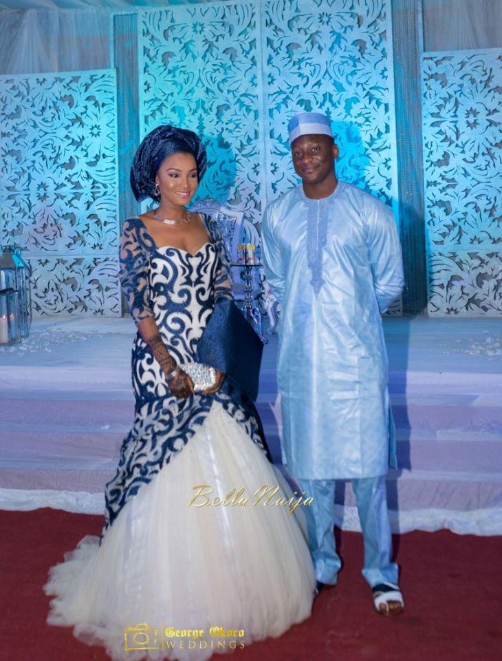 Muneerah u Umar Kano Hausa Muslim Nigerian Wedding George