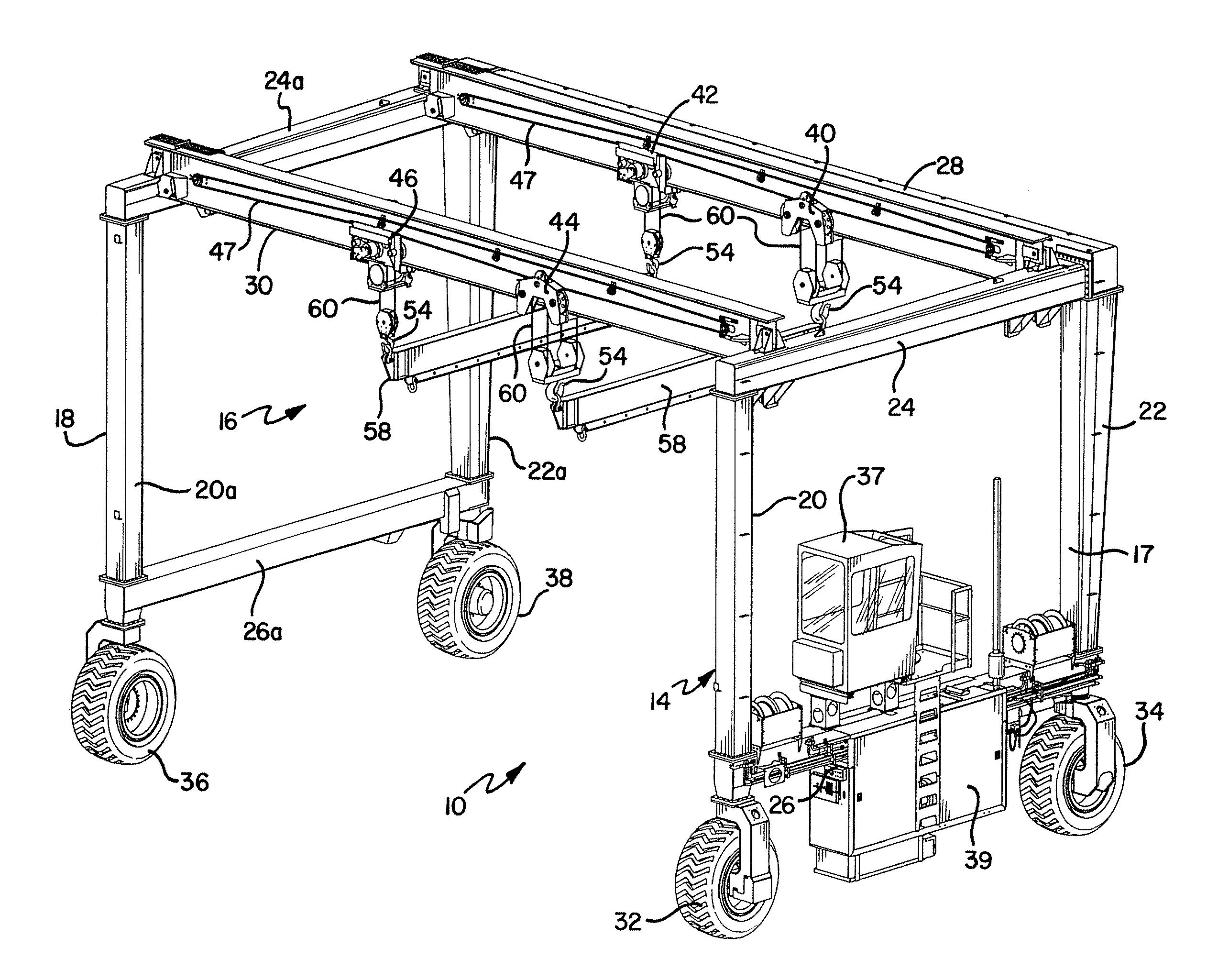 A Diagram For A Frame Hoist