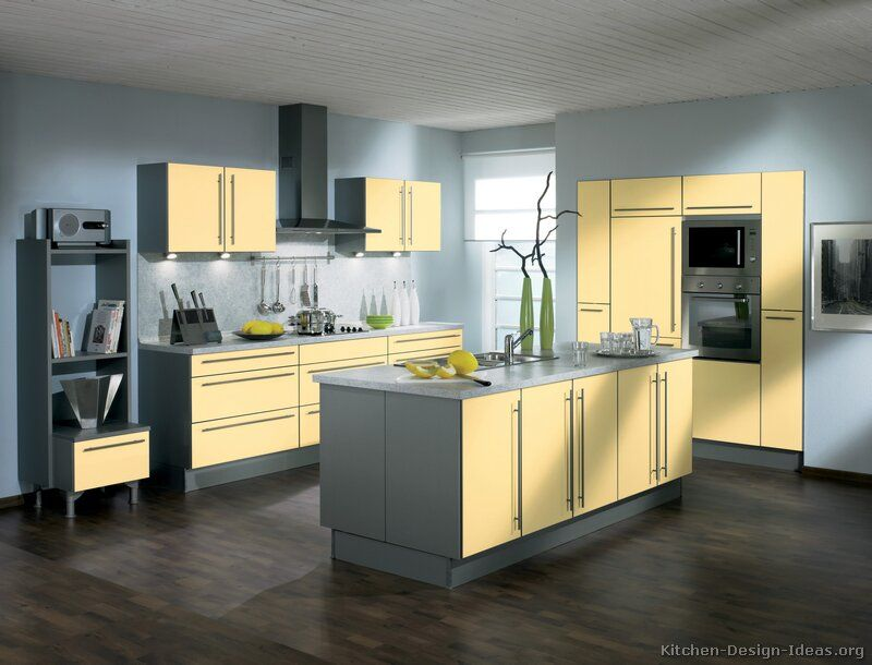 kitchen design pictures of modern yellow kitchens kitchen cabinets modern two tone 169 a062a on kitchen ideas yellow and grey id=63153
