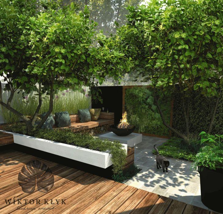 Small contemporary garden  Garden  Pinterest  Contemporary