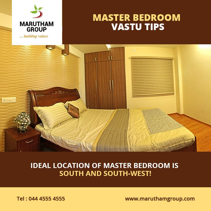 Vastu For Master Bedroom In South West