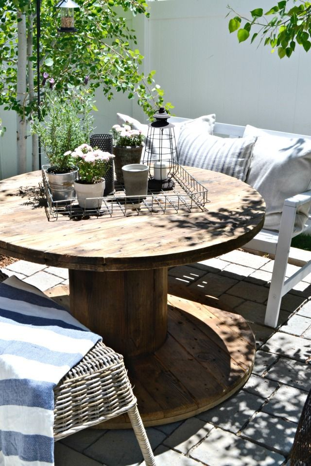 Small Patio On A Budget | Small patio spaces, Small patio ... on Small Backyard Patio Ideas On A Budget id=89366