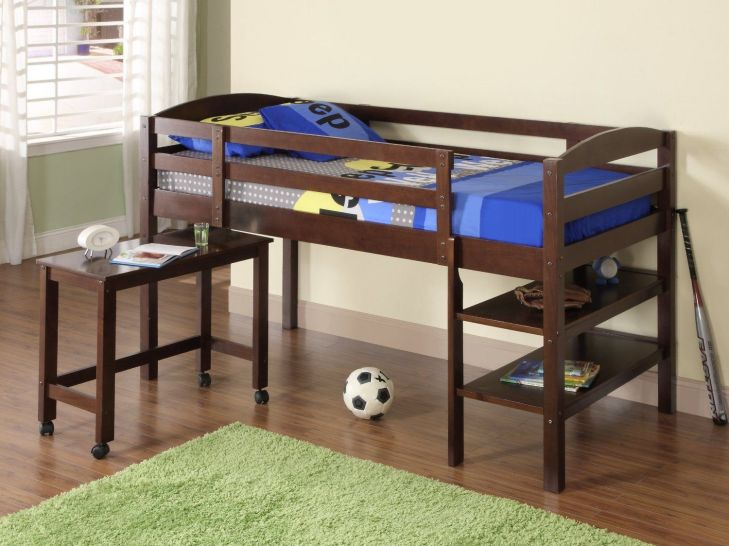 Terrific Loft Beds For Kids With Desk Image Ideas  For the Home