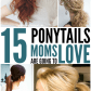 Ponytails easy tips to make them look fancy ponytail super