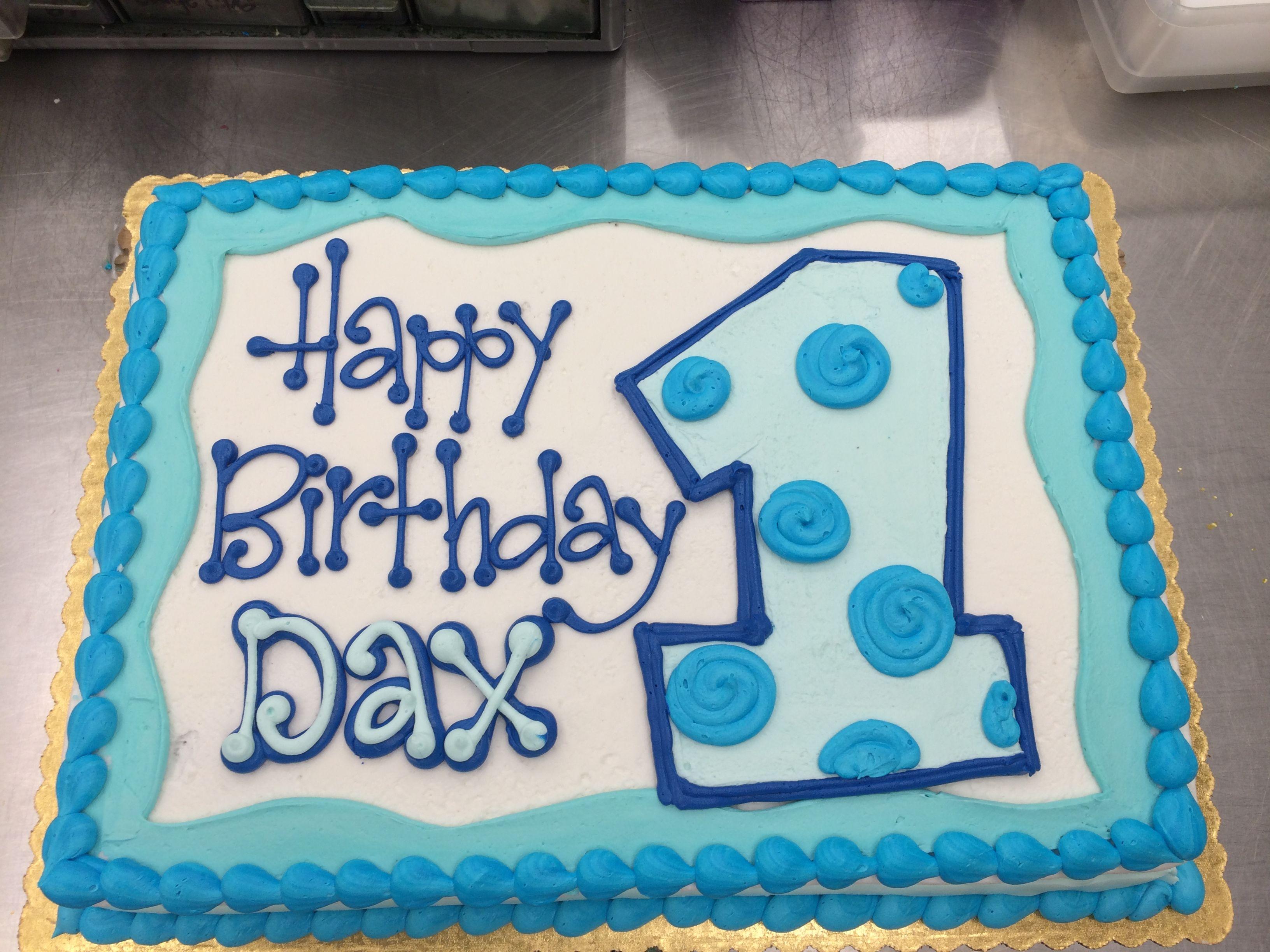 So Cute First Birthday Cake By Stephanie Dillon Ls1 Hy
