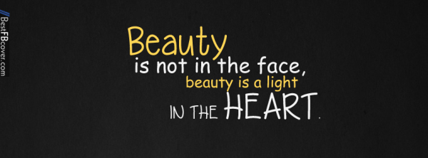 Beauty Quotes Facebook Cover | Best FB Cover | cover ...