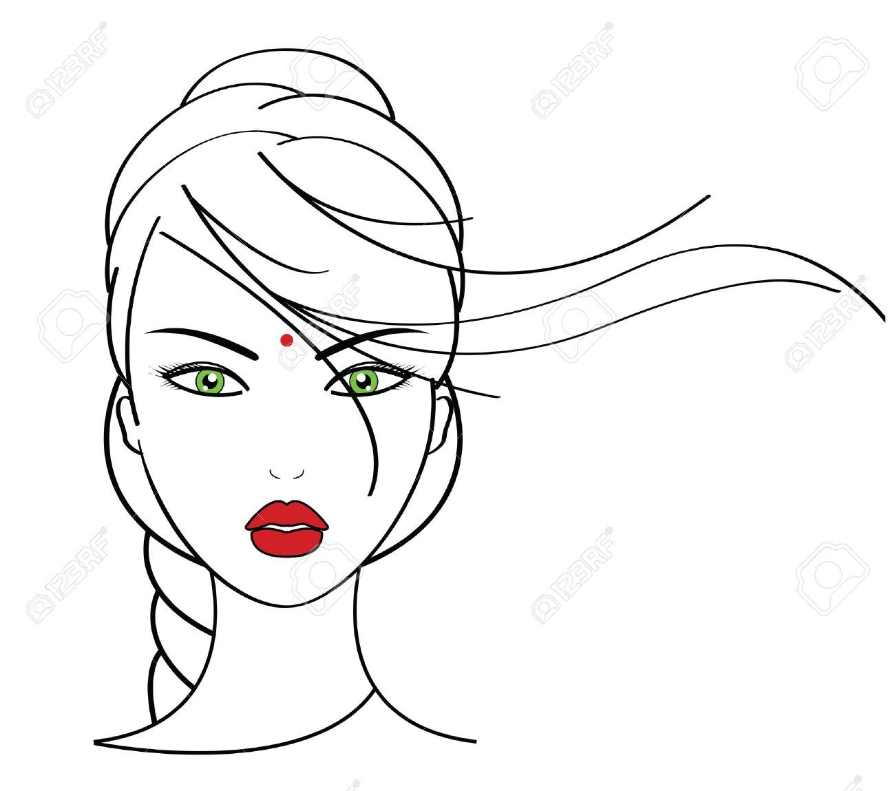 Makeup Artist Stock Vector Illustration And Royalty Free
