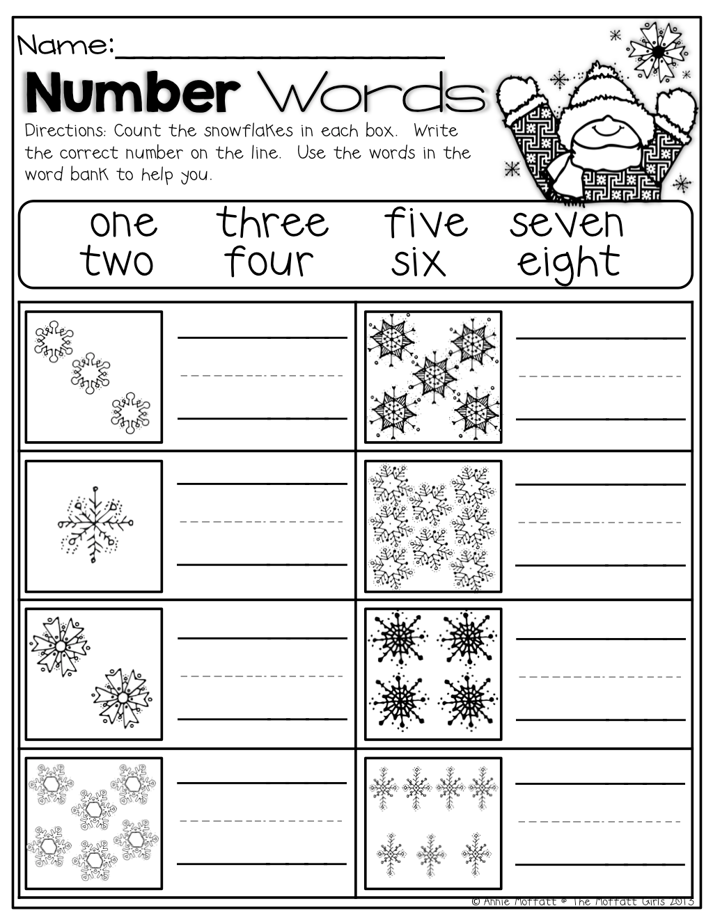 Worksheet Snowflake Worksheets Grass Fedjp Worksheet