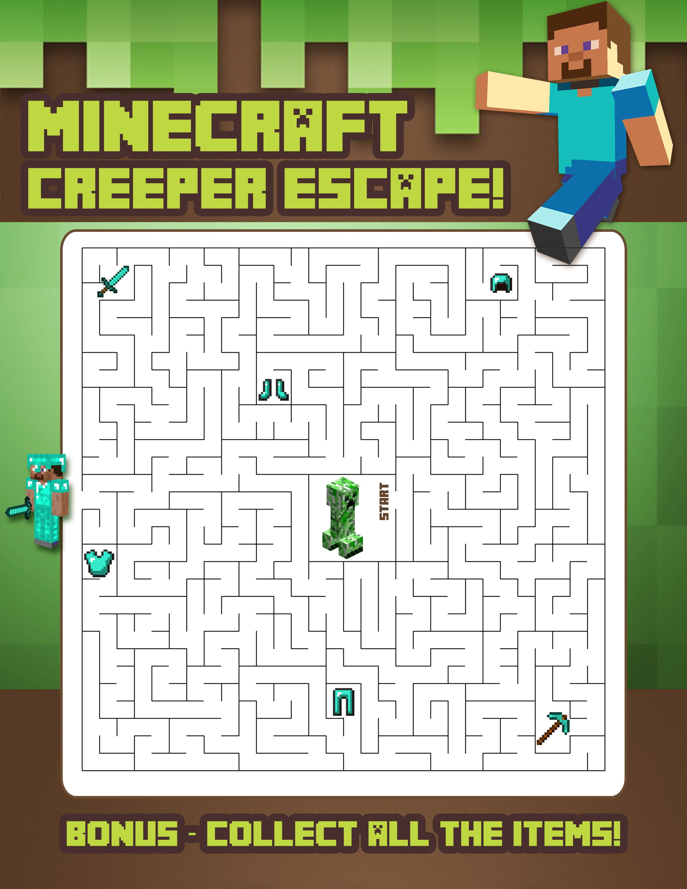 Minecraft Maze Escape 2 400 3 106 Pixeles